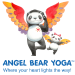 Angel Bear Yoga Logo
