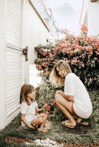 Kid with Mother